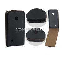 100pcs/lot free shipping Imitation of Korea over flip leather cover case For Nokia Lumia 530