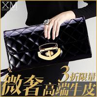 Xia Mo new women bags shoulder diagonal women patent leather chain bag ladies leather clutch handbag Q39