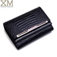 Xia Mo 2013 new Miss Han Ban female short paragraph leather wallet purse wallet women wallet genuine Q85