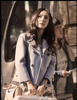 2014 New sale! Celebrity ladies Chic Woolen Overcoat ,Fashionable Woolen Coat