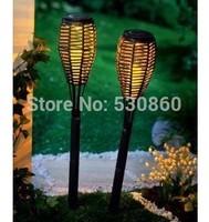 Solar LED inserted cane Lawn lights garden lights garden lights European- led hand-woven