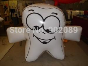 frete grátis para 3m tooh inflável modelo, quente leão inflável balão à terra, alta qualidade leão para publicidade(China (Mainland))