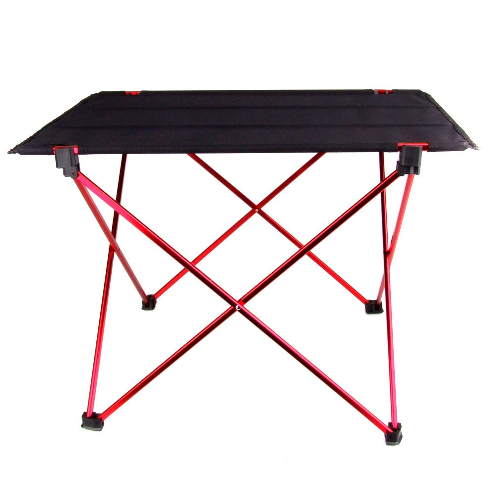 Portable Foldable Folding Table Desk Furniture Outdoor Picnic Aluminium Alloy Free Shipping(China (Mainland))