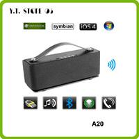Aluminum HIFI Bluetooth Speaker portable dancing wireless mini blutooth speakers sound box boombox caixas de som music column