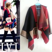 Fall &Winter 2014 Women Charming Thick Wool Shawl  140922YD01