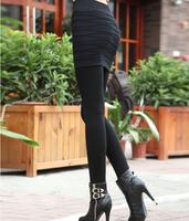2014 Winter New Korean Stretch Of Water Ripples Through The Skin Culottes Fashion Wild Slim Leggings Leggings