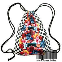 fg655 England Britain National Flag Union Jack Drawstring Bag Backpacks Backpack for Travelling / School / Leisure Life