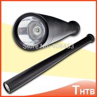 Zoom Zoomable 3-Mode Q5 LED Baseball Bat Emergency Flashlight Flash Tactical Security Torch waterproof Self-defense flashlight