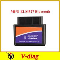 MINI ELM327 Bluetooth OBD2 V1.5 (Black) New Arrivals OBD2 Code Scanner elm 327