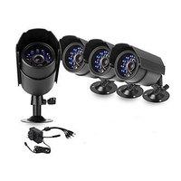 Zmodo 4 Bullet Day Night 600TVL Home Surveillance Security CCTV Camera System