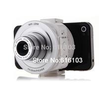 AMKOV Sangmax SP W501 Wireless WiFi Direct 5X Zoom 14MP Lens Camera Self timer White