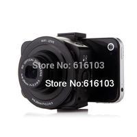 AMKOV Sangmax SP W501 Wireless WiFi Direct 5X Zoom 14MP Lens Camera Self timer Black