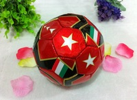 Mini soccer ball,SIZE 2#, promotion gifts,christmas gifts, children toys, red color