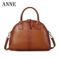 The new summer handbag shells header layer of leather hand shoulder diagonal female bag packet