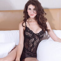 2014 New Sexy Lingerie Hot Sexy Costumes Sexy Underwear Erotic Lingerie Baby Doll Sexy Dress Erotic Underwear + 1pc Thong LC2325
