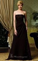 New Beaded Lace A-Line Chocolate Brown Long Chiffon Evening Dress Vestidos de Noite Custom Made XS S M L XL 2XL 3XL 4XL