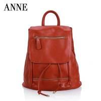 Korean fashion handbags casual shoulder bag vertical section cowhide leather handbag shoulders back to Europe and America