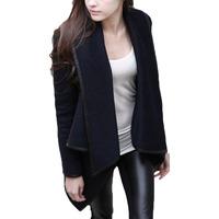 Women Lady Slim Wool Warm Long Coat Jacket Trench Parka Windbreaker Outwear