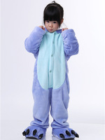 Lovely children sleepwear one piece blue and pink play and performance costumes free shipping pajamas