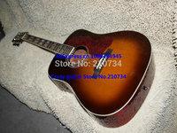 Wholesale -  Cherry burst Acoustic Guitar Sunburst G Guitar free shipping Guitar factory Wholesale