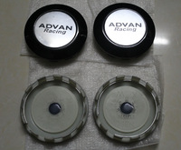 """4pcs wheel center hub cap ADVAN RACING cap for original ADVAN RS-D wheel 75mm 3"""""""
