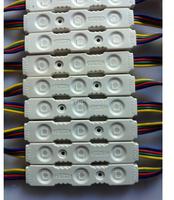 20pcs/lot NEW module 5050 RGB 3leds injection led module,epistar led,12V0.75w,7colors led module,channel letters advertising led