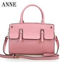 2014 new leather handbag shoulder bag large bag European and American fashion leather handbag shoulder bag large
