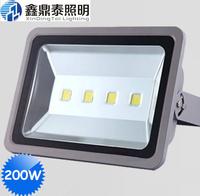 ( 4pcs/lot ) 200W LED Flood Light outdoor landscape lighting lamps led floodlight 200W projection light free shipping