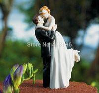 2014 New Free Shipping 5 Pcs True Romance Couple Figurine Cake Topper Wedding Decoration