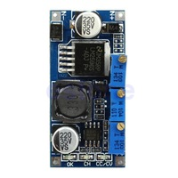 C18 + Free Shipping 1pc DC-DC LM2596 Step-down Adjustable Power Supply Module CC-CV LED Driver New