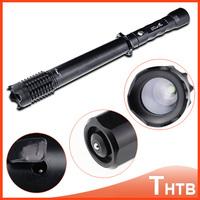 2014 New Electronic CREE Q5 LED Tactical Flashlight Baseball Bat Torch shocker Long Light Hiking & Hunting