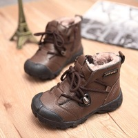 2014 winter snow boots boy padded boots  Foot length 16 ~ 22cm