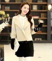 2014 Autumn new Korean version of the fall of long loose sweater cardigan sweater coat