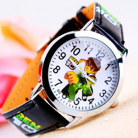 New Arriving Christmas Gifts Cartoon Watch Cool Boy Leather Wristwatch Children Kids Students Sports Watches Clock 167076