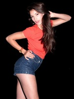 2014 Lady Women girls vintage high waist denim shorts jeans Bottom plus size female Free size Bottoms jeans blue hot sale