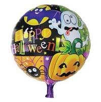 45 * 45cm aluminum pumpkin Halloween party balloon toy wholesale holiday decorations