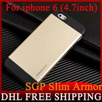 200pcs/lot SPIGEN SGP Slim Armor Case for iPhone 6 4.7 inch wholesale