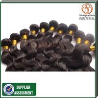 Hot Selling Peruvian Virgin Hair Human Hair Weaves Wavy, Body Wave Beauty Hair 5pcs/lot Mix Length