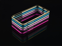 2014 Hot Sale Rushed Phone Cases Hippocampal Buckle Aluminium Metal Bumper For Iphone6 Plus 5.5 Inch Slim Frame