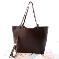 Brief Vintage Bolsas Femininas Women Genuine Leather Handbags European American Style Zipper Bags Lady Shoulder Messenger Tote