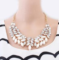 Min. Order $8.8(Mix Orders) Wholesale 2014 New Korea Trendy Fashion Women Luxury Elegant Pearl Necklaces FN0124