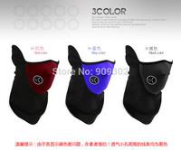 Wholesale - Newly  Neoprene Neck Warm Face Mask Veil Sport Motorcycle Cycling Ski Snowboard Guard 60pcs