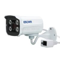 Original Escam QD300 Network Camera 720P IR H.264 1/4 CMOS Camera P2P Surveillance Security Outdoor Waterproof IP Bullet Camera