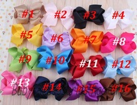 Wholesale Baby Flower Headband With Big Bow Infant Hair Bows Newborn Ribbon Bowknot Hair Band Hair Apparel Accessories ZL016