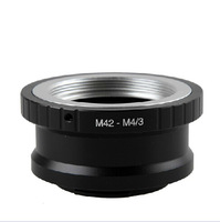 Free shipping + tracking number 42 rpm M 4/3 m4 / 3 m43 (for Olympus EP1, G1) M42-M43 adapter ring