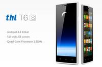 "THL T6S 5.0"" MT6582 Quad Core Mobile Phone JDI Android 4.4.2 5MP Camera 1GB RAM 8GB ROM 3G WCDMA Ultra thin Dual SIM AGPS"