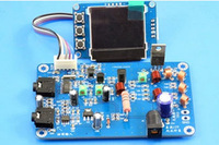 5W stereo finished PLL FM transmitter board  max 7W power frequency adjustable volume finished board with LCD