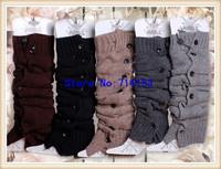 NEW leg warmers for women Button Down Boot Cuffs trim gaiters Boot Socks Crochet Leg Warmers Knit Leg Warmers