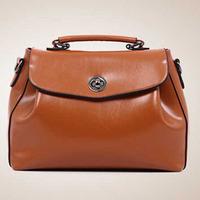 2014 New Style Oil Wax Women Handbag Vintage Women Messenger Bags Crossbody Bag Fashion Shoulder Bag Hot Tote Clearance Sale
