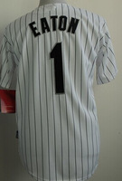 Cheap Sale,#1 Adam Eaton Men's White/Black 2014 New Baseball Jerseys wholesale